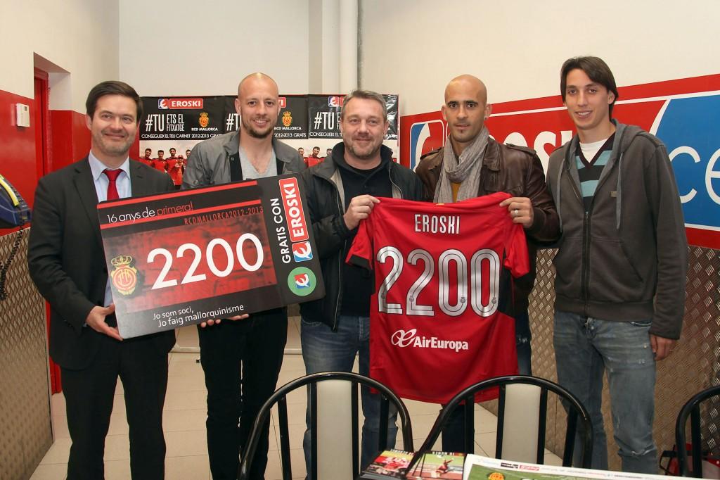 Juanjo Amengual , Real Mallorca y eroski