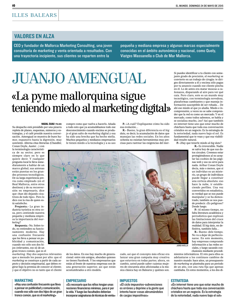 El marketing productivo, según juanjo Amengual