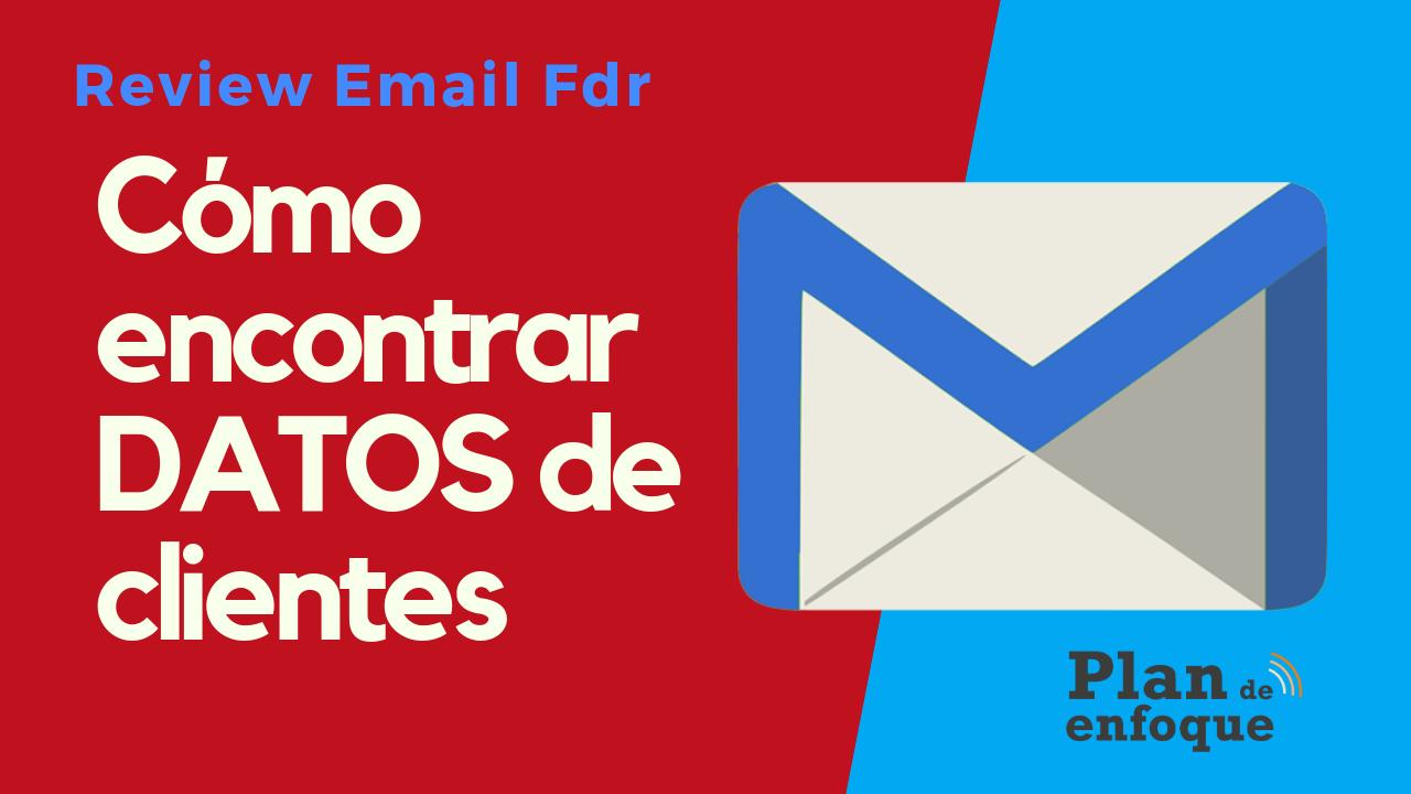 Cómo encontrar el email profesional de alguien en un click   EmailFindr Review  